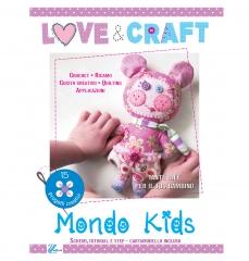 Love&Craft, kids, astuccio arrotolabile, cornice, tessuti americani, you clay, feltro, colla per tessuto, bambini, idee