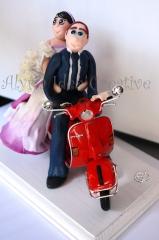 Sposini, torte nuziali, matrimonio, sposi,  idee, cake topper , wedding